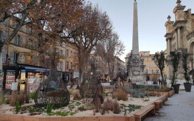 Un jardin éphémère à Aix-en-Provence